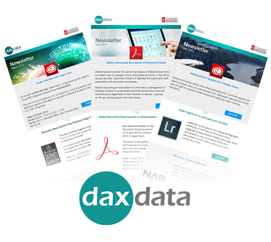Dax Data Newsletter Sign-Up