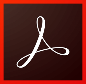 Adobe Acrobat DC Icon
